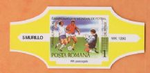 1990 World Cup Cigar Band (Yellow)